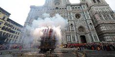 Lo scoppio del carro, in piazza Duomo a Firenze è tra le 10 cose da fare in Toscana a costo zero durante le vacanze di Pasqua http://firenze.repubblica.it/cronaca/2012/03/31/news/costo_zero-32500437/