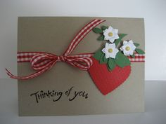 Strawberry Time by Tankerton - Cards and Paper Crafts at Splitcoaststampers