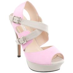 Fiebiger Shoes Fairy Floss ($78) ❤ liked on Polyvore