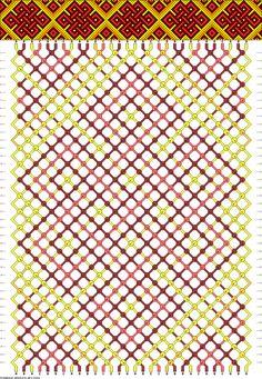 #42889 - friendship-bracelets.net. Free DIY bracelet pattern and knot instructions.celtic knot design.