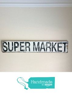 Super Market Sign For Kitchen Or Dining Room, HGTV's FIXER UPPER INSPIRED from…