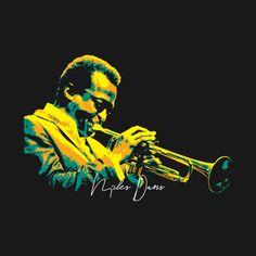 Music Illustration, Photo Illustration, Musician Photography, Jazz Art, Black Art Pictures, Music Artwork, Miles Davis, Jazz Musicians, Blue Art