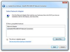 The Easy Approach to Updating Drivers in Windows 7: Click the Have Disk Button