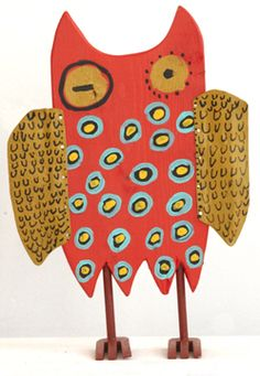 'Red Owl' by Billy Fred Hellams