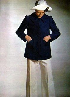 Yves Saint Laurent Rive Gauche 1972 #nomad #nomadchic  http://www.nomad-chic.com