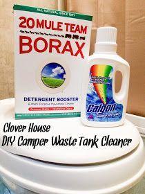 Clover House: DIY Camper Waste Tank Cleaner