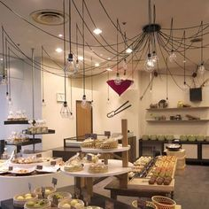 Konjaku-an by Inly Design - a combined bakery, dried food store and cafe in Osaka, Japan.