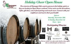 Blue Mountain Vineyard and Cellars - 404 Error December 1st, Blue Mountain, Wineries, Open House, 30th, Vineyard, Cheer, Sunday, Events