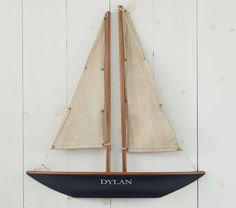 Personalized Sailboat: http://www.potterybarnkids.com/
