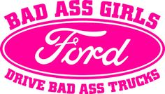 If I ever get me a Ford truck, I want this sticker for it! Truck Stickers, Truck Decals, Bumper Stickers, Trucks And Girls, Big Trucks, Ford Truck Quotes, Ford Diesel, Diesel Trucks, Ford Girl