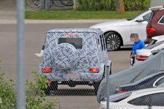 Erlkönig: Mercedes-Benz G-Klasse