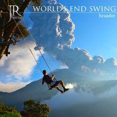 #WorldsEndSwing #Ecuador #Swinging #Camping #Climbing #Hiking #Adventure #Travel #Tourism