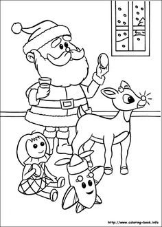 rudolph the red nosed reindeer rudolph the red nosed reindeer coloring picture