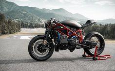 "Ducati 1098 ""El Demonio Rojo"" by MG Customs"