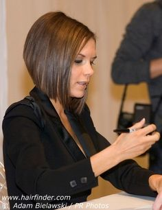 Next hair cut, when I'm sick of growing my hair out... Victoria Beckham bob