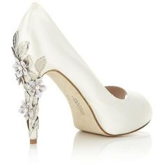 Sparkle down the aisle with these brilliant wedding shoes.