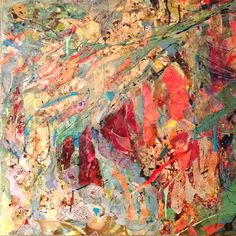 'Carnival' Rosie Britton, Mixed media collage on canvas Mixed Media Collage, Abstract Paintings, Painting & Drawing, Carnival, Colours, Drawings, Artist, Carnavals, Artists