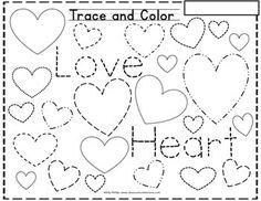 drawing hearts worksheet activities colors and the o 39 jays. Black Bedroom Furniture Sets. Home Design Ideas