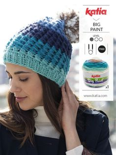 But for now, if you enjoy making projects with only 1 or 2 balls of yarn, discover these 11 new Katia yarns. Knitting Socks, Baby Knitting, Knitted Hats, Crochet Neck Warmer, Knit Or Crochet, Winter Sweaters, Winter Hats, Laine Katia, Tips