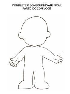 Atividades corpo humano - Atividades Pedagogicas
