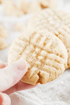 These vegan sugar cookies are so soft and sugary, no one would ever guess they're completely plant based. Plus, they're easy to put together in under 20 minutes! Easy, delicious, and no-nonsense – perfect for any occasion. #vegan #cookies | Vegan Cookies | Vegan Baking | Easy Vegan Recipes | Dairy Free | Plant Based