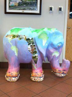 Planet Earth elephant.