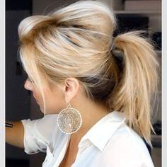 nice twist one a ponytail