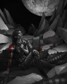 FemShep: At least I saved the universe...  (Readies to die)  *Ship Lands*  Garrus: SHEPARD!!!!!!?????  FemShep: Garrus!  Garrus: Shepard?  FemShep: Garrus.  (Kiss)