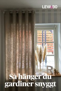 Hang Curtains Like A Pro, Hanging Curtains, Textiles, Living Room Lighting, Home Living Room, Life Hacks, Hanger, Sweet Home, Ceiling