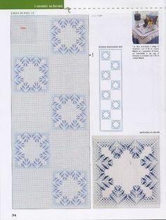Swedish huck towel weaving Gallery.ru / Фото #21 - VAGONITE - samlimeq