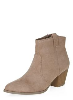 Stone 'Amber' western boots
