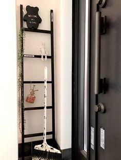 簡単☆オシャレなインテリアラダー*。|DIYレシピ  簡単に作れるオシャレなインテリアラダー♪ 我が家では玄関に置いています☆