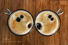 Coffee kiss by vuarnessonmarjolaine  IFTTT 500px Coffee Kiss cute drink drinking fun funny happiness happy kitchen love lovely smile sm