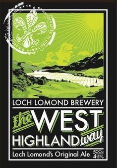 The West Highland Way real ale from Loch Lomond Breweries.    www.lochlomondbrewery.com
