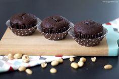 Überraschung gefällig? Schoko-Erdnuss-Muffins