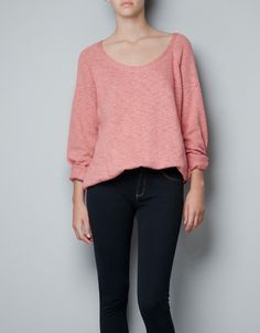 FINE KNIT SWEATER - Knitwear - TRF - ZARA