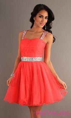 Short Party Dress  at PromGirl.com