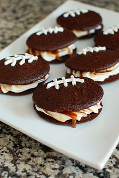Superbowl Whoopie Pies