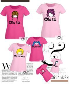"""Ole mi niña loves pink"" by oletuleon on Polyvore"
