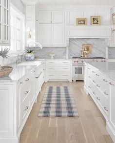 Home Decor Kitchen, Kitchen Interior, Home Kitchens, Kitchen Ideas, Kitchen Inspiration, Kitchen Tops, New Kitchen, Smart Kitchen, Kitchen Rug