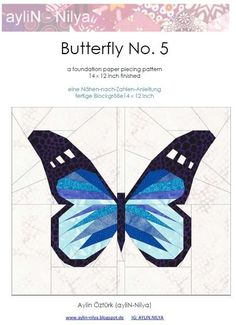 Looking for your next project? You're going to love Butterfly No. 5 - pp-pattern by designer Nilya.