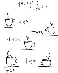 Tea tea tea tea//. So me! I begin and end the day with a cuppa tea!