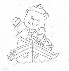 almofada com bordado urso panda - Pesquisa Google