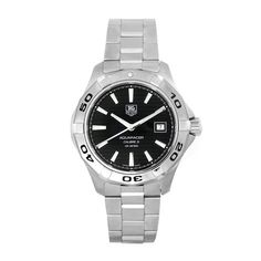 TAG Heuer Men's WAP2010.BA0830 Aquaracer Calibre 5 Automatic Black Dial Watch B0040FJTJ4
