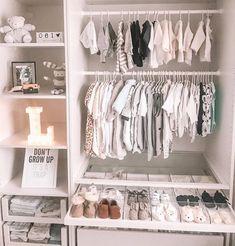 Inspirational 100+ Baby Room Ideas - nactumu Baby Bedroom, Baby Boy Rooms, Baby Room Decor, Baby Room Closet, Baby Closets, Room Baby, Unisex Baby Room, Closet Wall, Entryway Closet