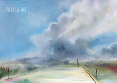 Close To Home, One And Only, Landscape Art, Paths, Clouds, The Originals, Painting, Outdoor, Outdoors