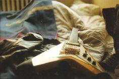 epiphone flying V from korea music, guitar, analog photography, zenit Epiphone, Music Guitar, Korea, Music Instruments, Photography, Photograph, Musical Instruments, Fotografie, Photoshoot