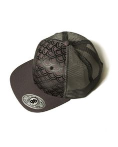d13543be46d Mermaid Scales Snapback Hat by Double Portion Supply  www.doubleportionsupply.com
