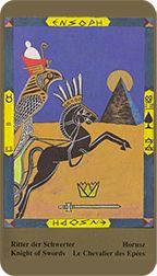 Knight of Swords - Kazanlar Tarot by Emil Kazanlar Knight Sword, Tarot Reading, Tarot Decks, Tarot Cards, Swords, Art Gallery, Image, Tarot Card Decks, Art Museum