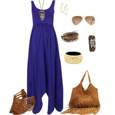 Summer Dress - Boho Style